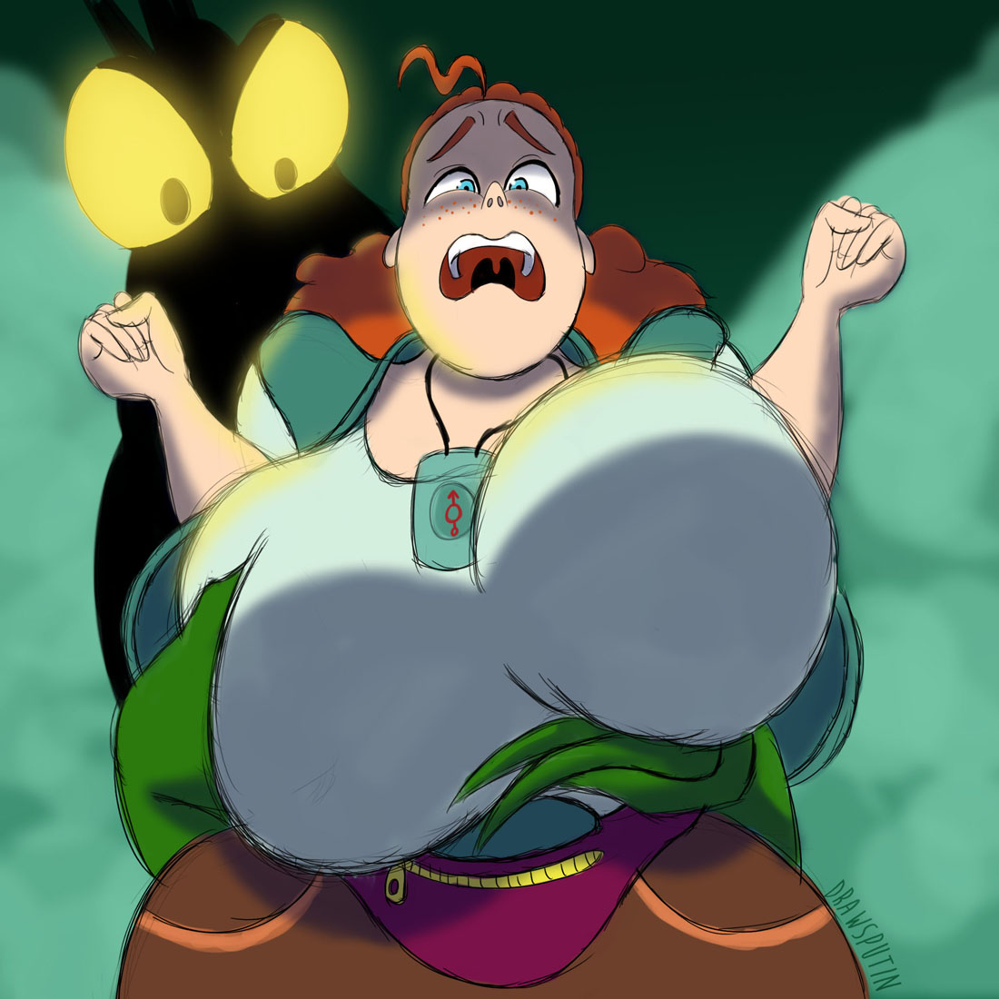 the flapjack bubbie from whale Breath of the wild risa