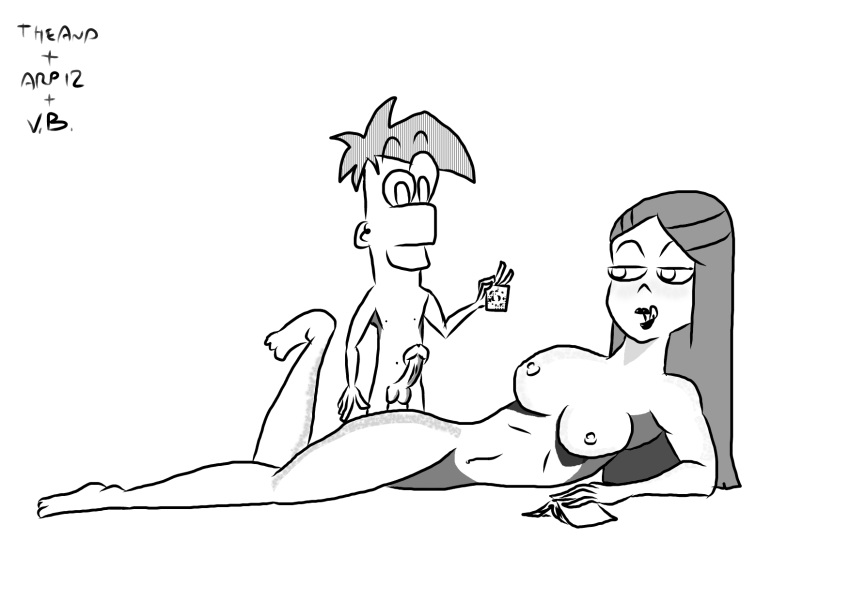 and phineas gretchen from ferb Futa on male rape hentai