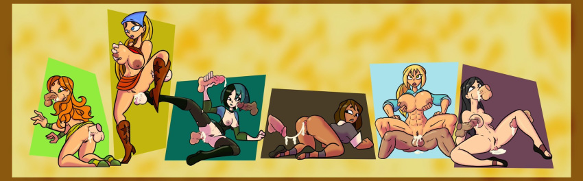 gay total drama island sex Frantic, frustrated, and female