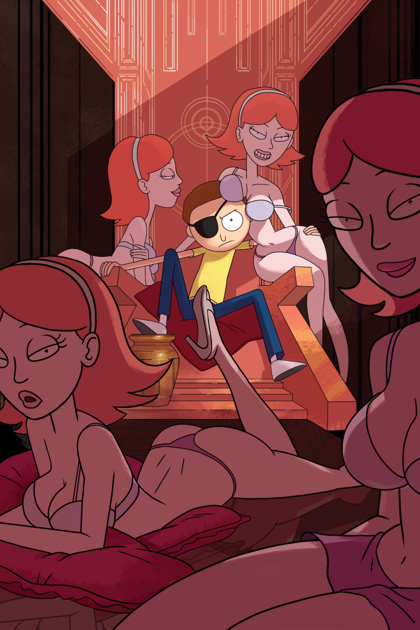 tits morty jessica rick and Chaurmine trials in tainted space