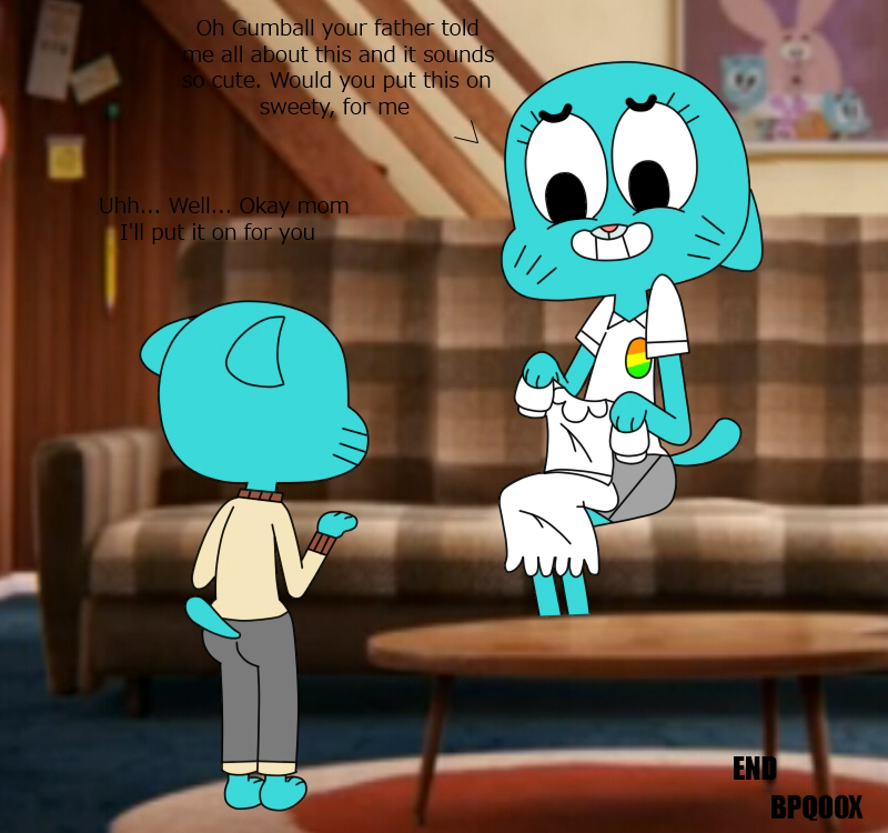 world gumball amazing nicole nude of Trials in tainted space syri quest